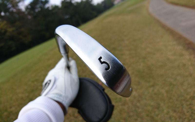 チップゴルフの5番アイアンはノンプレッシャー